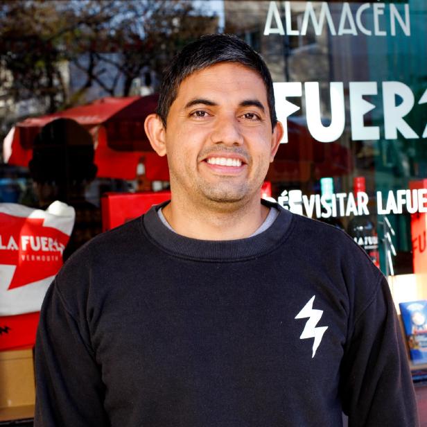 Dioni Hernández, cocinero de producción